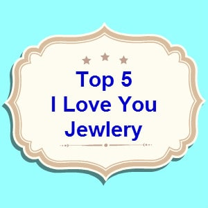 I love you jewelry