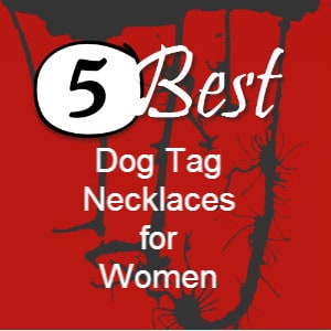 dog tag necklaces for women