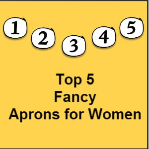 fancy aprons for women