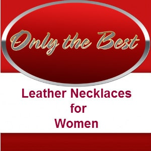 leather necklaces for women
