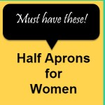 half aprons for women