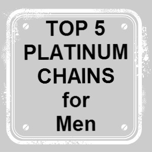platinum chains for men