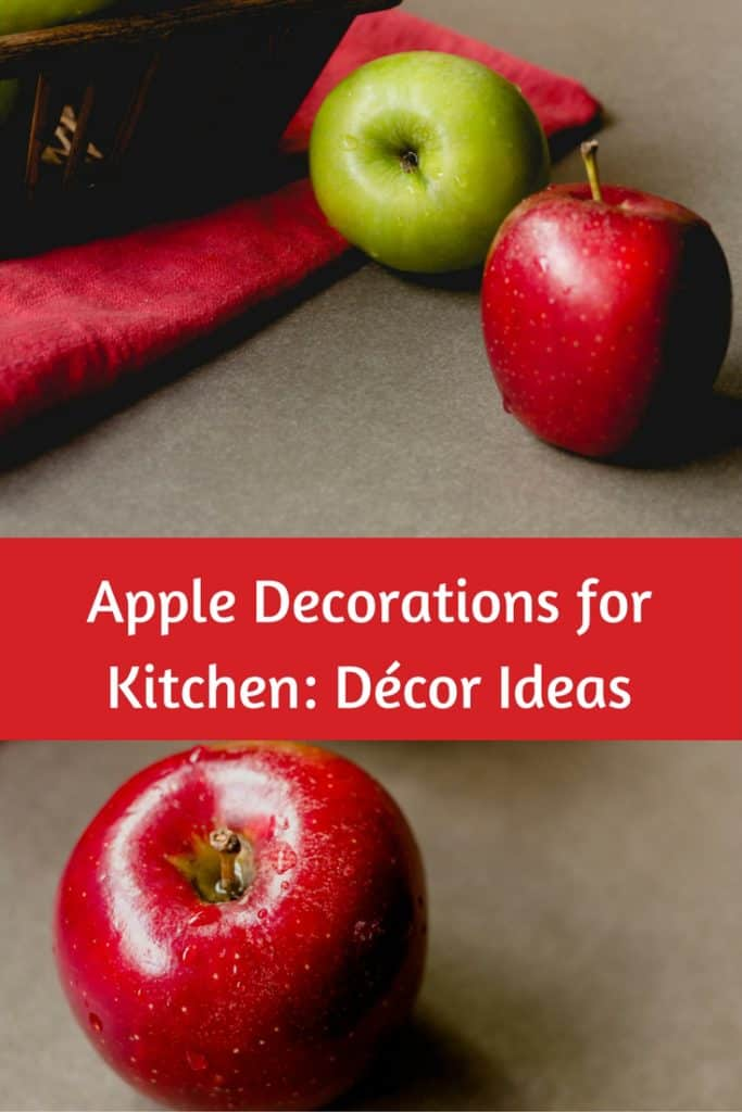 apple kitchen accessories and decorations