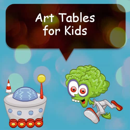 art tables for kids