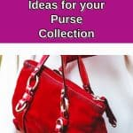 closet organization ideas for your purse collection