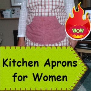 Kitchen Aprons For Women Great Gift Ideas