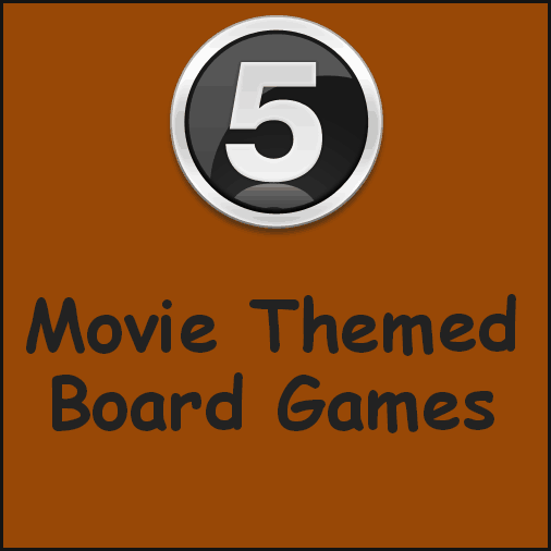 movie themed board games