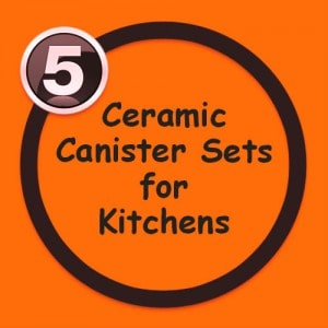 Ceramic Canister sets for kitchen