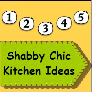 shabby chic kitchen ideas