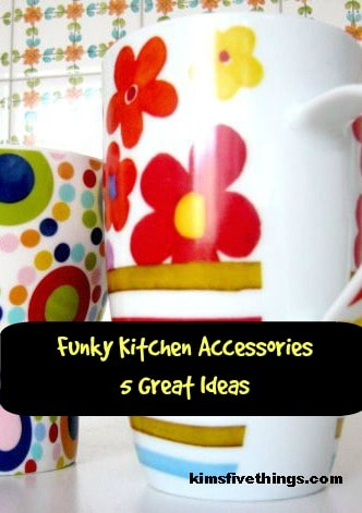 Funky Kitchen Accessories Bright Fun And Modern For The Home Ideas
