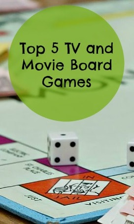 tv and movie board games
