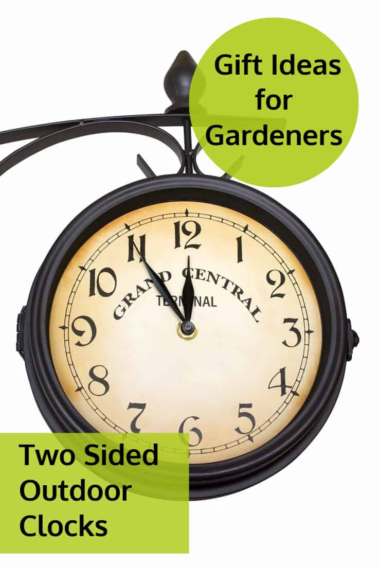 Best Two Sided Outdoor Clocks For Gardens And Patios