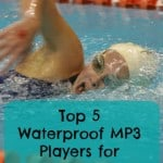 waterproof mp3 players for swimming
