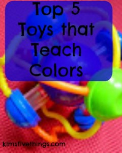 top toys that teach colors
