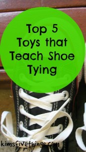 shoe tying toys for children
