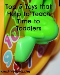 toys that teach time