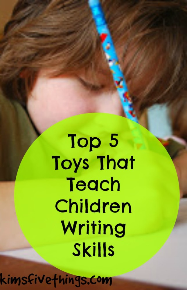 toys that teach words and writing