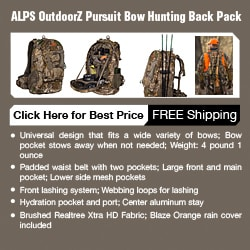 backpack for camping, hiking and hunting