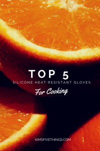 silicone heat resistant kitchen gloves