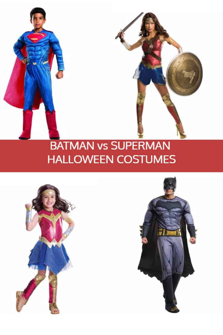 Batman v Superman Halloween Costumes