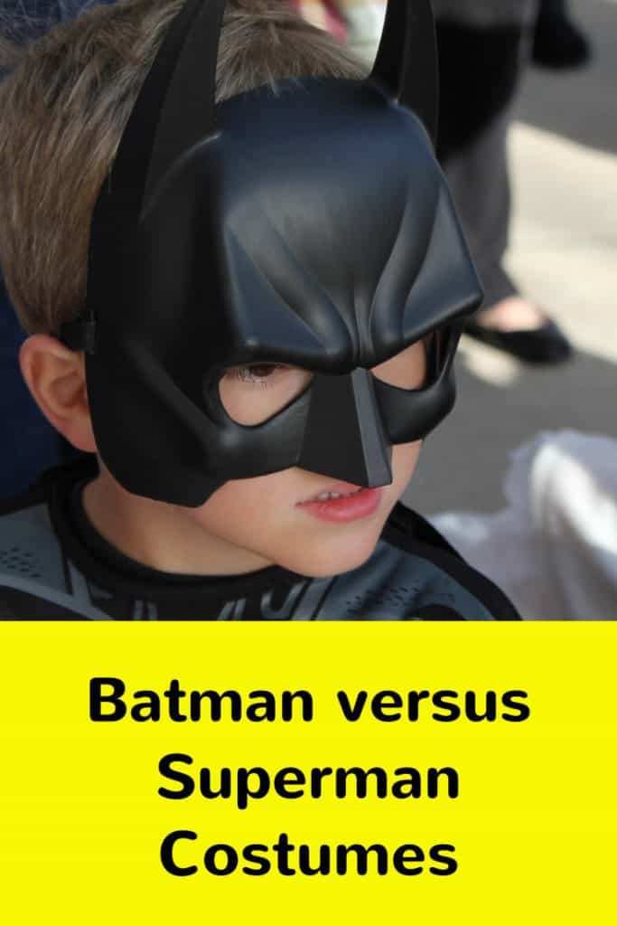 batman versus superman halloween costumes