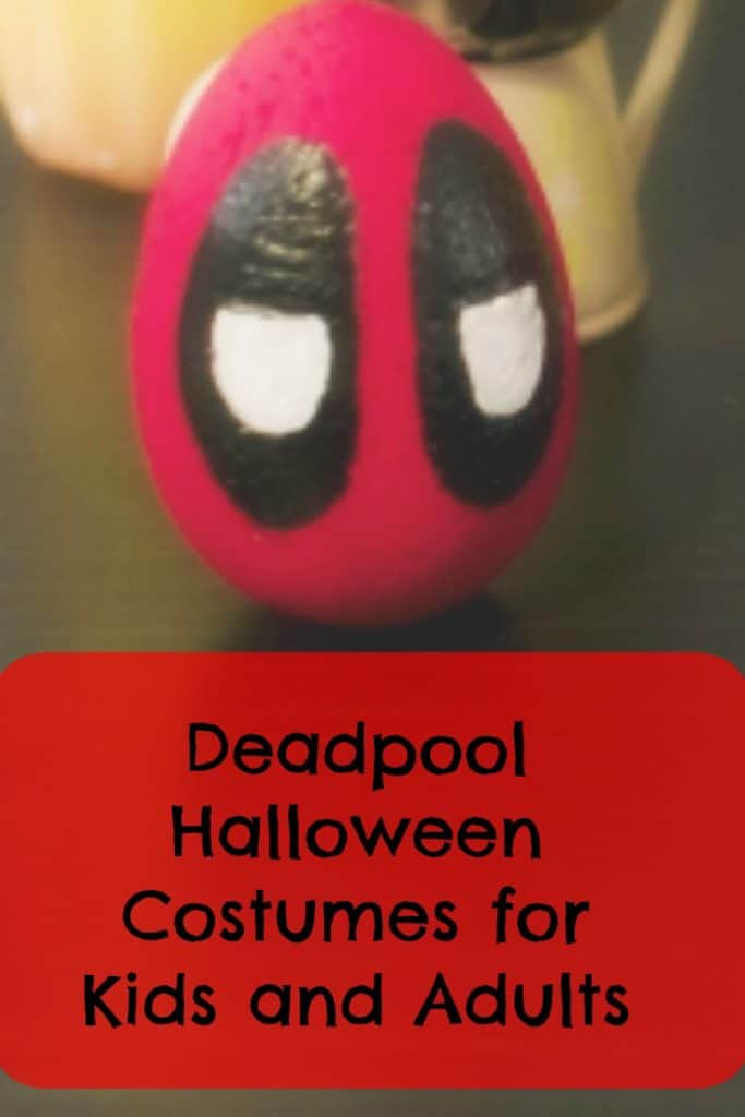deadpool halloween costumes for kids and adults