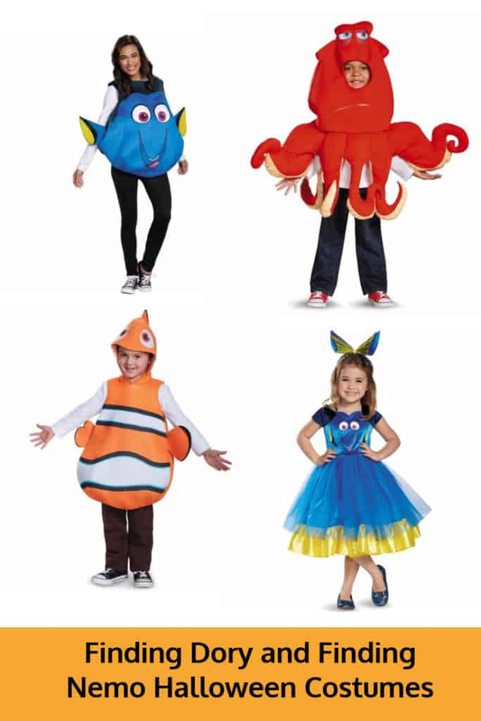 Finding Dory and Finding Nemo Halloween Costumes