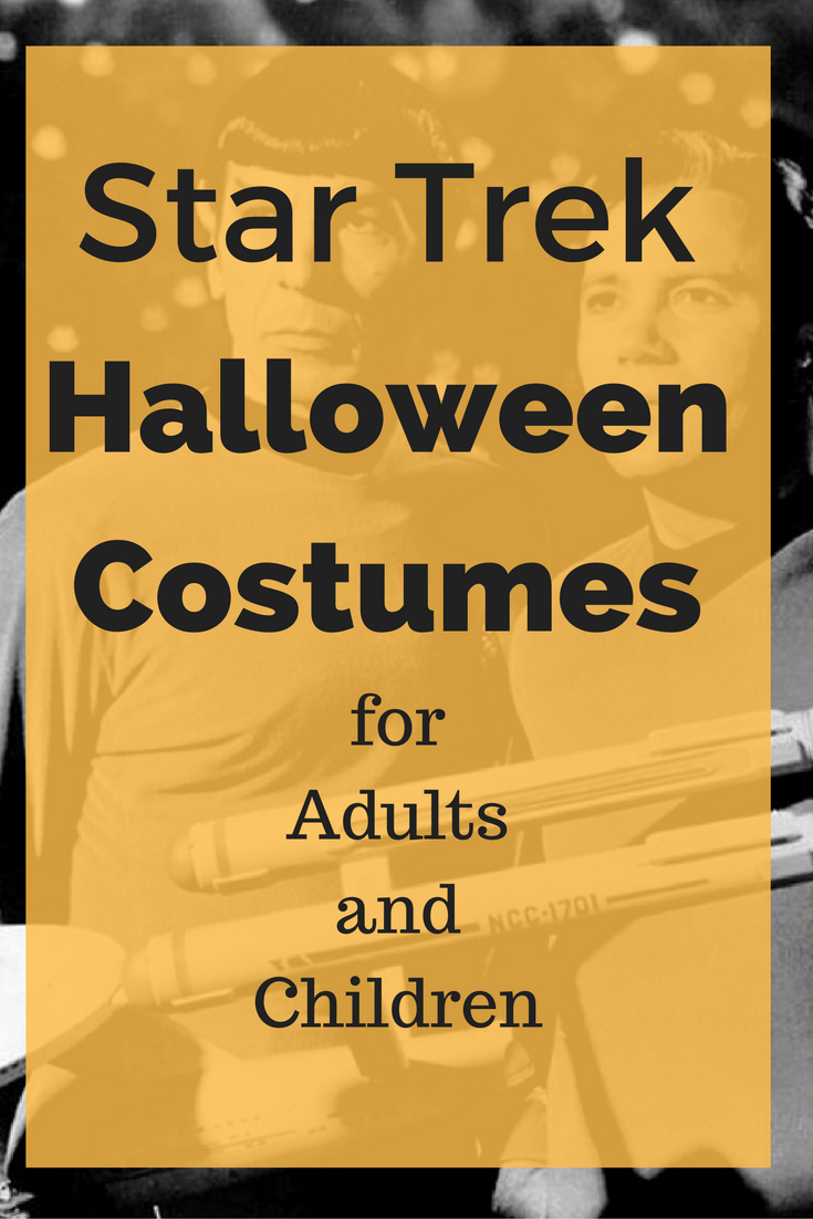 star trek halloween costumes for adults and children