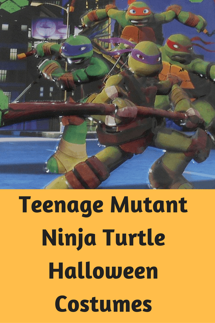 Teenage Mutant Ninja Turtle Halloween Costumes