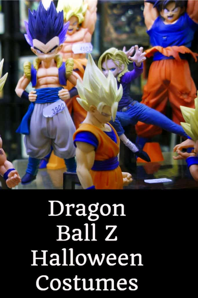 Dragon Ball Z Halloween Costumes