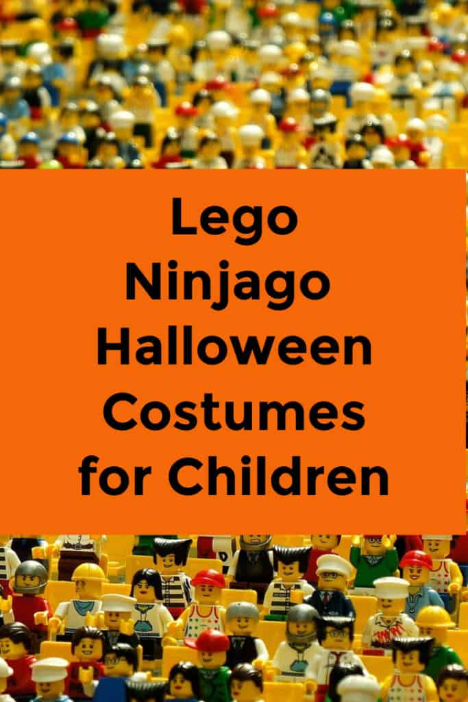 lego ninjago halloween costumes for children