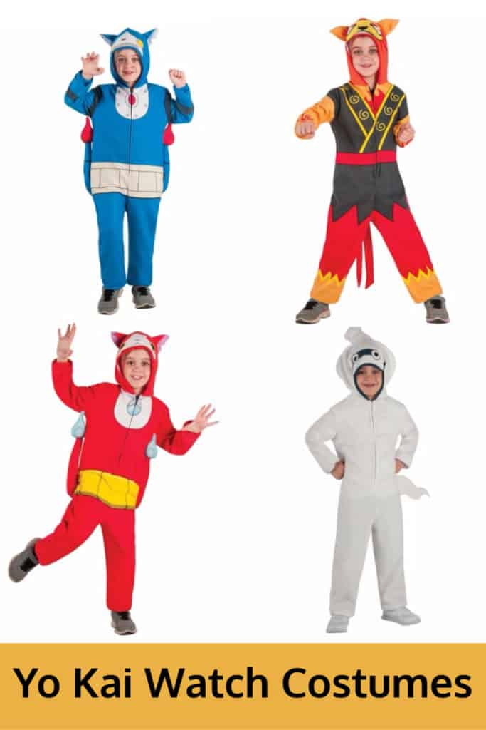 Yo Kai Watch Childs Halloween Costume Ideas