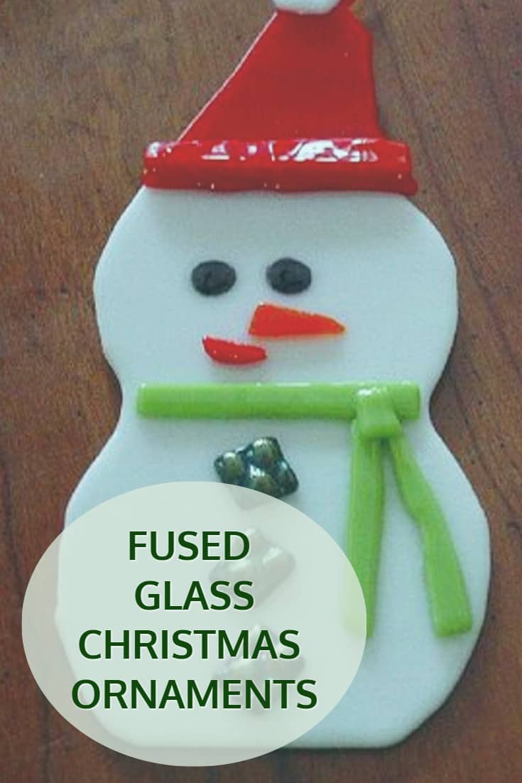 Fused Stained Glass Christmas Decorations and Ornaments – Great Gift ...
