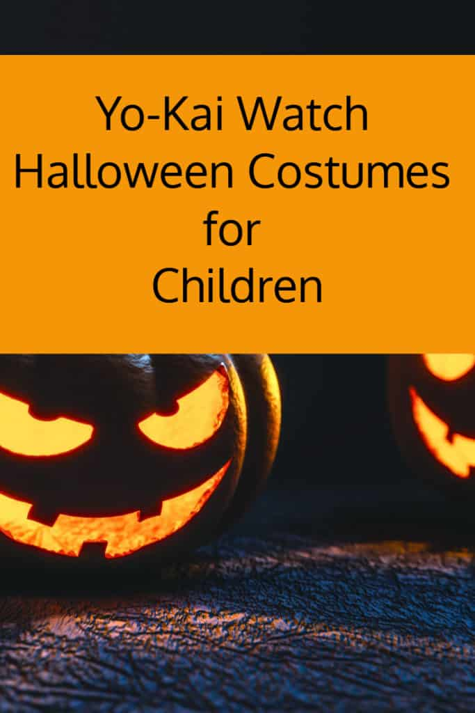 yo kai watch halloween costumes for children