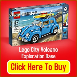 Lego Beetle Toy Car Model Kit