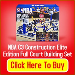 Toy Constuction Set for a Child that Loves Basketball