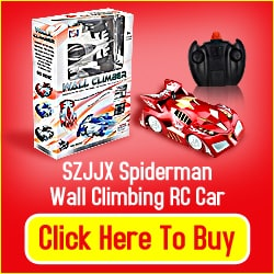 Spiderman Wall Climbing RC Car