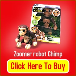 Zoomer Robot Chimp Toy