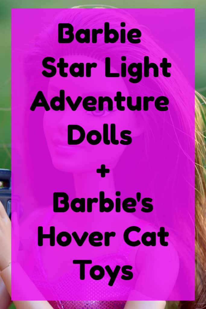 Barbie and Hover Cat Starlight Adventure Accessories