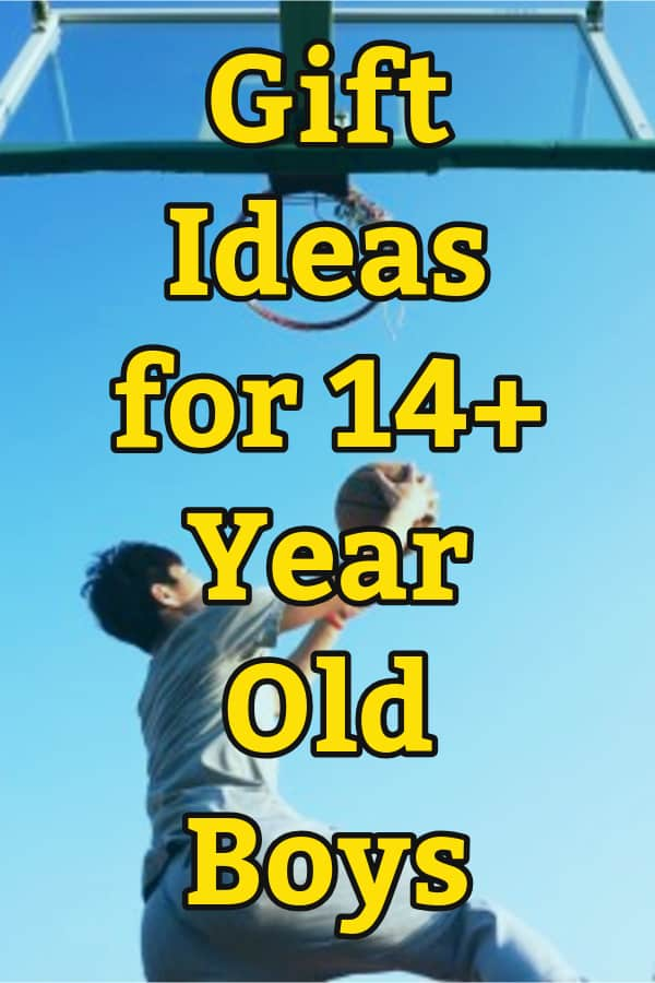 gift ideas for 14 year old boys