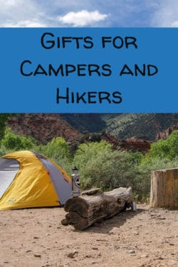 gifts for campers and hikers