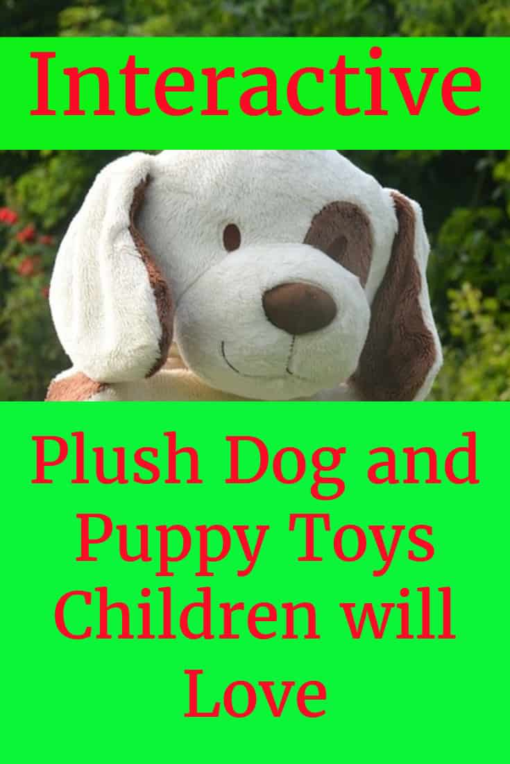 Plush Interactive Toy Dogs and Puppies Gift Idea for a Child that Loves Dogs