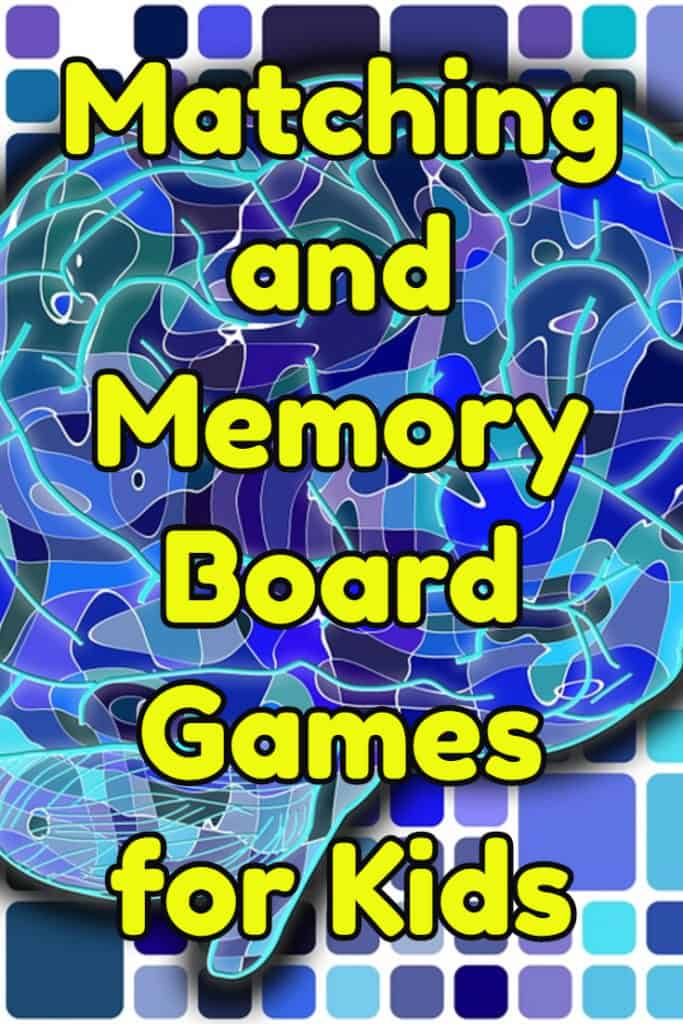 Matching and Memory Board Games for Kids Gift Ideas