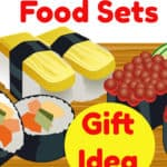 Realistic Sushi Play Food Sets
