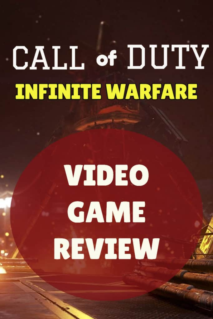 Call of Duty Infinite Warfare Video Game Review 2017