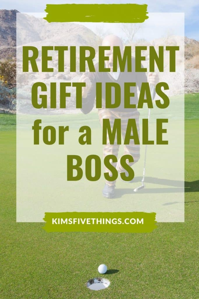 best retiremtn gift ideas for a male boss