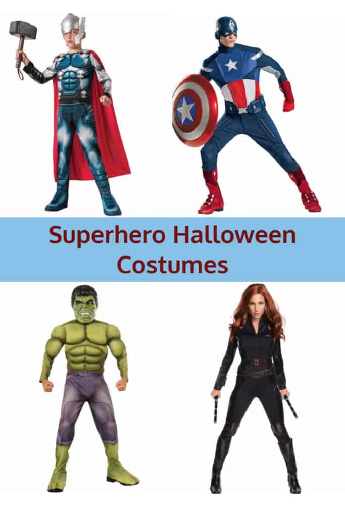 Halloween Costumes 2020 Deluxe Captain Best Avengers Superhero Halloween Costumes 2020 | Kims Home Ideas