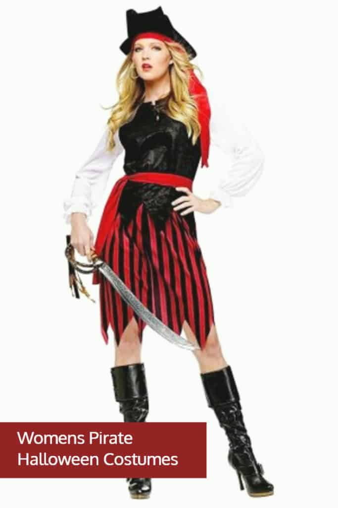 Womens Pirate Halloween Costumes