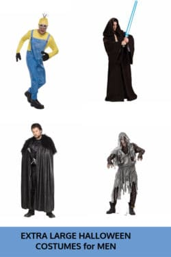 Extra Large Halloween Costumes for Men
