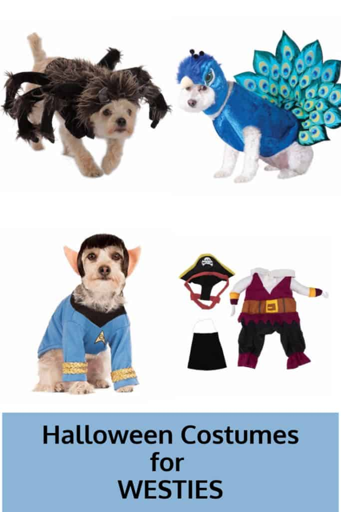 Halloween Costumes for Westies